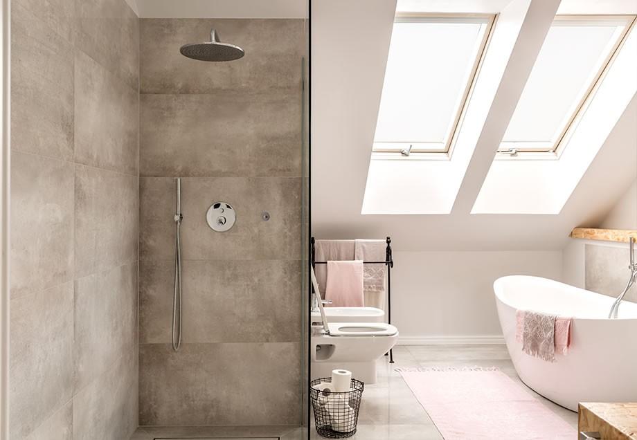 hier muss sich die dusche nicht verstecken und bekommt den platz der ihr gebhrt - Dusche Offen Grose